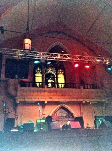 The stage at the Southgate House Revival, Newport KY.