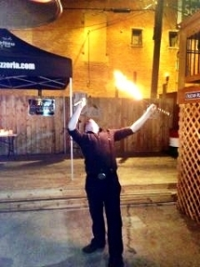 A Covington Fire Eater.