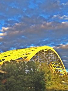 The Big Mac Bridge, taken from Cincinnati.