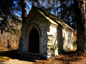 The Mausoleum for Bishop Brossart.