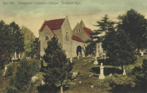 A postcard image of the Chapel.