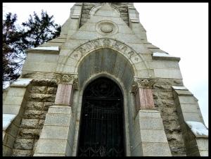 Bodmann Mausoleum.