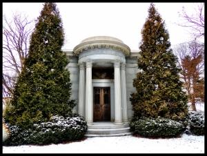 The Alms Mausoleum.