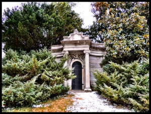 This is maybe the Worthington Mausoleum??