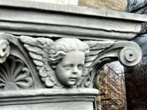 A tired-eyed cherub...
