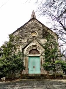 The lovely Vine Street Hill chapel.