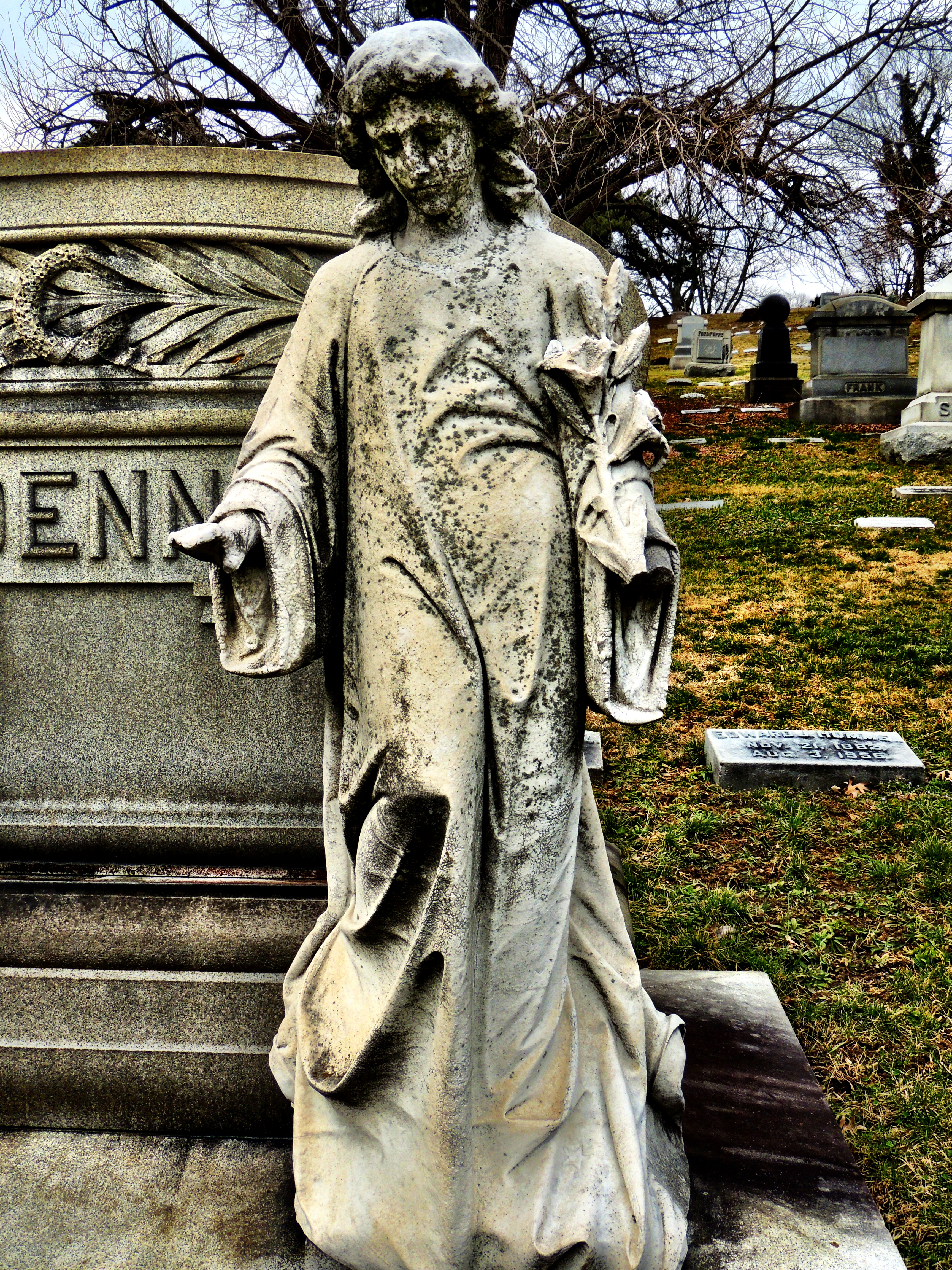 Vine Street Hill Cemetery Cincinnati Oh Reflections